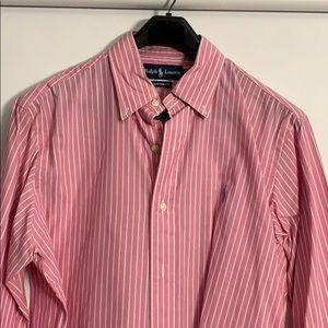 Ralph Lauren Custom Fit button shirt